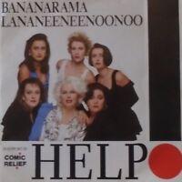 "BANANARAMA - Help ~ 7"" Single PS"