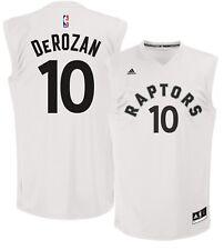 💯% Genuine DeMar DeRozan Toronto Raptors adidas Fashion Replica Jersey L-White