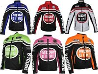 Textil Motorrad Jacke mit Protektoren Winddicht und Wasser abweisend Biker
