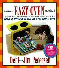 Meatless Easy-Oven Cookbook: Menu Planning Made Simple with Vegetarian Recipes T