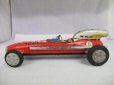Vintage S & E Tin Friction Race Car, 568-F