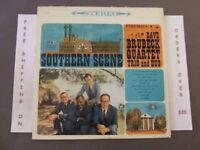 THE DAVE BRUBECK QUARTET SOUTHERN SCENE 1960 6 EYE STEREO ISSUE LP CS 8235