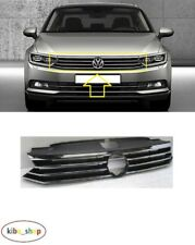 VW PASSAT B8 2015 - 2018 NEW FRONT BUMPER CENTER RADIATOR GRILLE GRILL CHROME