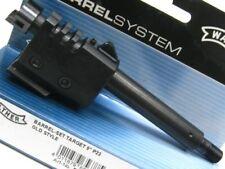 """WALTHER Tactical Black Steel 5"""" BARREL SET Target For P22 22LR! 512504"""