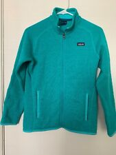 Patagonia Girls XL 14 Green Fleece Jacket