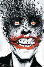 Batman Comics Poster Joker Bats Arkham, 24x36