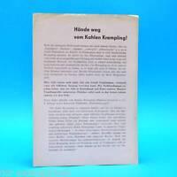 Hände weg vom Kahlen Krempling 1969 | Werbezettel Hygiene-Institut Pilz DDR