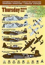 DP Casper Decals 1/72 OPERATION THURSDAY March 1944 Chindits 2nd Campaign