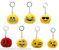 Portachiavi EMOTICON in peluche Emotion Faccine emoji risata baci