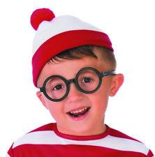 Wheres Waldo Deluxe Book Character Halloween Costume Glasses