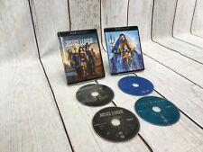 Aquaman + Justice League (Blu-Ray/4K Hd) No Digital