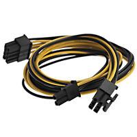 8 PIN TO 8 pin ( 6+2) PCI-E VGA Power Supply Cable For EVGA Super NOVA New