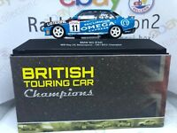 "DIE CAST "" BMW M3 (E30) - 1991 "" BTCC CHAMPION SCALA 1/43 BRITISH TOURING CAR"