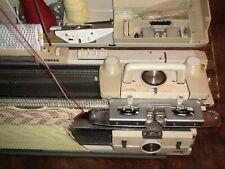 KNITTING MACHINE SINGER SK324 + srp 20 RIBBER FULL SERVICE GREAT KNITTING CONDT