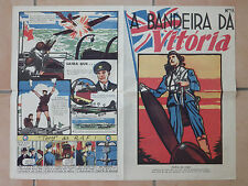 Bande dessinée 1944 Guerre Cartoon a Bandeira da Vitoria No. 9 In portugais (7325