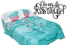 Inspired by The Little Mermaid Wall Decal Sticker Kiss The Girl