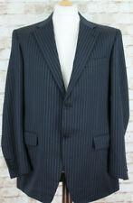 CANALI Super 120's Striped Blazer Size 52L