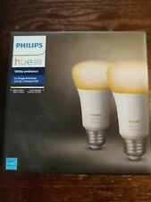 Philips Hue White Ambiance 2-Pack LED Smart Bulb