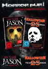 25 YEARS DE TERROR Michael Myers & Jason HALLOWEEN+VENDREDI DER 13. 2 Boîte DVD