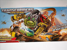SDCC TRANSFORMERS RPMS DEVASTATOR POSTER  comic-con