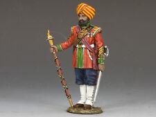 King And Country Indian Drum Major Soe015 Soe15 Painted Diecast Metal