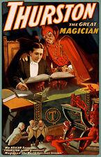 THURSTON VINTAGE MAGICIAN POSTER FANTASTIC (C)