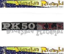3291 - TARGHETTA COFANO O BAULETTO VESPA PK 50 XLS - BICASBIA