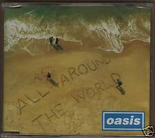 Oasis All Around The World CD Singolo JAP 4 Tracce New!