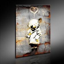 Banksy Graffiti Spazio Girl Quadro su Tela Stampa Artistica Tela per Foto 24 -9