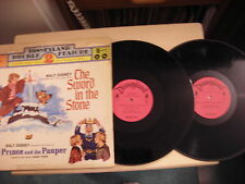 Walt Disney presents all the songs from SWORD IN THE STONE LP 1972