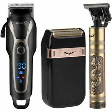 Professional Barber Hair Clipper Rechargeable Electric T-Outliner Finish Cutting