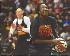 TINA CHARLES Signed 8 x 10 Basketball WNBA Photo NEW YORK LIBERTY FreeShip UCONN