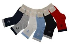 Boys kids socks soft 90% Pure cotton 3 pairs Anchor logo sizes 1 to 6 years