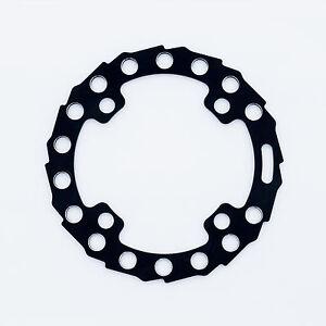 ROCK RING chain Bike Bash Guard, 34t Max, 104mm BCD, 50g, Black, aluminum