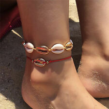 Bracelet Handmade Beach Foot Jewelry New Bohemian Natural Shell Bead Rope Anklet