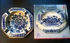 RARE Royal Delft Blue Ashtray With Original Box~Vintage~ Delfts Blauw Handwerk~