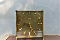 Vintage Art Deco Brass clock Automatic Watch High quality 70s