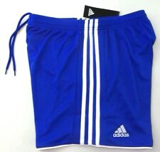 Adidas Women's Soccer Shorts Small Bold Blue White Climacool Tastigo 17 Running