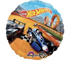 "Hot Wheels Cars 18"" Anagram Balloon Birthday Party Decorations"