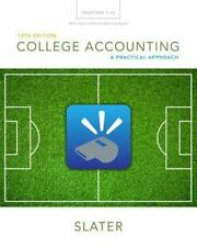 College Accounting Chapters 1-12 with Study Guide and Working Papers by Jeffrey…