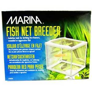 Marina Fish Net Breeding Trap Isolation Chamber Protect Aquarium Safe Tank