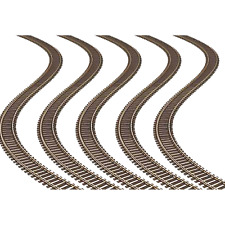 Atlas 168 – Code 100 Super Flex 36″ Track (5 pcs) – HO Scale