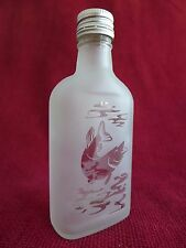 Glass Bottle Flask with Hunting Fishing Design Idea For the Gift Trout Fish 3 B