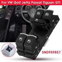Power Window Master Switch Panel 5ND959857 For VW Golf Jetta Passat Tiguan