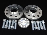 25mm VW AUDI 5x112 OR 5X100 Hubcentric Wheel Spacers, 57.1 bore &10 Radius Bolts