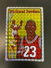 1985 Michael Jordan Rookie Reprint Prism Jewel Sticker