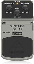 More details for behringer vd400 vintage delay effects pedal