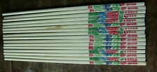 Eight pairs plastic chopsticks - vintage, good condition