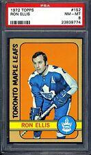 1972 Topps #152 Ron Ellis PSA 8 NM-MT *Toronto Maple Leafs*