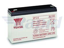 Yuasa Np12-6 - Valve Regulated Lead Acid Battery 12